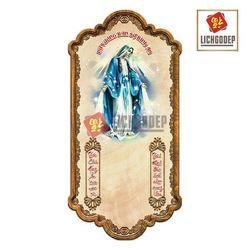Lịch Gỗ Công Giáo Đức Mẹ Maria V4M giá sỉ