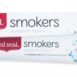 KEM ĐÁNH RĂNG DÀNH CHO NGƯỜI HÚT THUỐC RED SEAL SMOKERS 100G giá sỉ