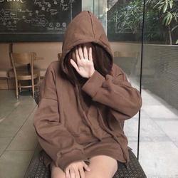Áo hoodie oversize nỉ ngoại
