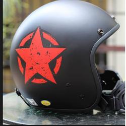 Mũ bảo hiểm 3/4 Ngôi sao đỏ giá sỉ