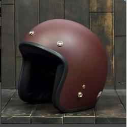 Mũ bảo hiểm 3/4 dành cho phượt thủ Nâu nhám giá sỉ
