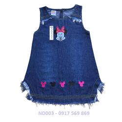 Đầm jean bé gái - giá sỉ, giá tốt