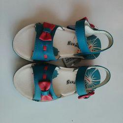 Dép sandal nơ xanh bé gái giá sỉ