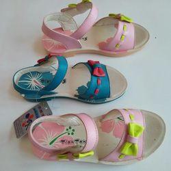 Dép sandal bé gái gắn nơ giá sỉ
