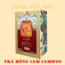 Thực phẩm bảo vệ sức khỏe Trà Hồng sâm Samwon