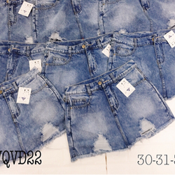 Quần Váy Jean Size Lớn QVD22 30-32