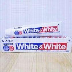 Kem đánh răng White and white nhật bản
