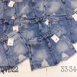 Quần Váy Jean Size Lớn QVD22 33-35