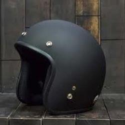 nón 3/4 đen trơn