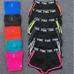 quần đùi pink