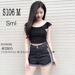 Quần short jeans S106 M giá sỉ