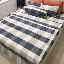 Set chăn ga cotton poly hàng mới giá sỉ