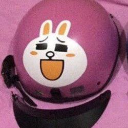 Mũ bảo hiểm thỏ