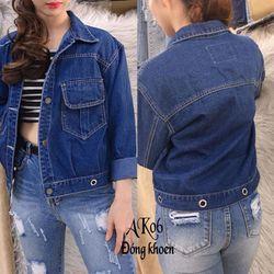 Áo khoác jeans AK06 giá sỉ