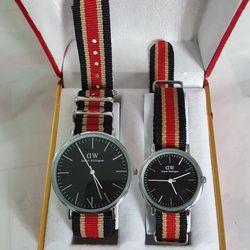 Đồng hồ dây du thời trang nam nữ