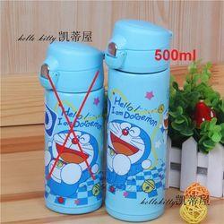 Bình nước giữ nhiệt inox hình Doremon Hello xanh 500ML - 280DO22021100 giá sỉ