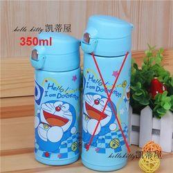 Bình nước giữ nhiệt inox hình Doremon Hello xanh dành cho học sinh và bạn nữ hoặc trẻ em 350ML - 260DO22020100 giá sỉ