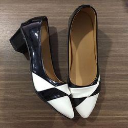 Giày gót 4cm và giày mọi giá sỉ