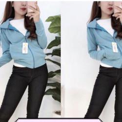 Áo khoác chống tia UV Hàn Quốc vải cotton 100 giá sỉ