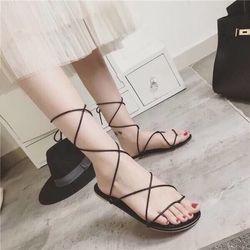 Sandal cột dây mới giá sỉ