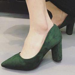 giày búp bê nhung 7p