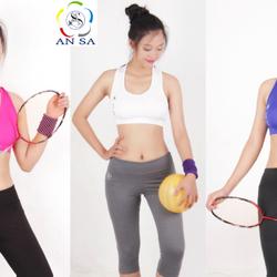Áo bra thể thao nữ AN SA phối lưới - AR2111