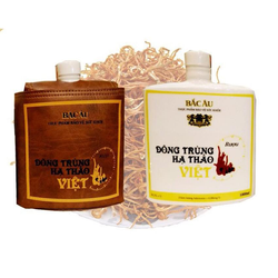 Rượu Đông Trùng Hạ Thảo Việt 1000ml - bao da sang trọng