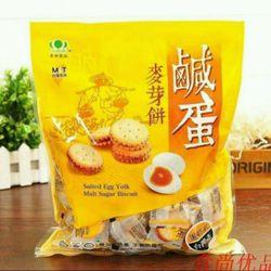 Bánh quy nhân trứng muối Đài Loan gói 500g