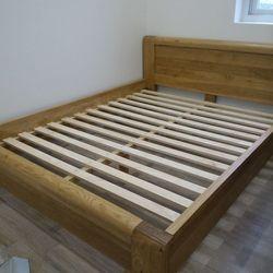 Giường ngủ gỗ sồi mỹ 1m6 x2m EUF 209