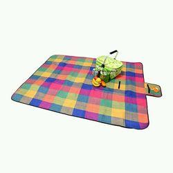 Thảm du lịch dã ngoại picnic vải bố kết hợp sợi nhựa chống thấm 150 x 200 cm giá sỉ