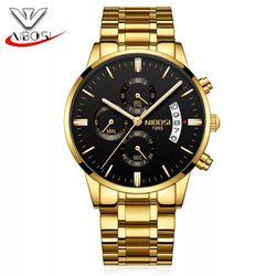 Đồng hồ Nibosi dây da và dây kim loại giá sỉ