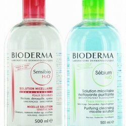 Toner tẩy trang Bioderma Sebium H2O Micelle Solition 500ml hàng Super giá sỉ