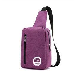 Túi đeo chéo thời trang có cổng sạc USB T1101 Nhiều màu lựa chọn giá sỉ