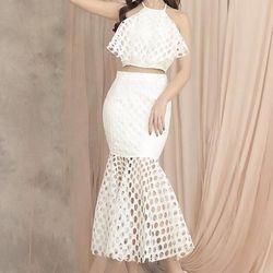 Bộ áo váy xòe đuôi cá 3347