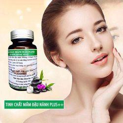 viên uống tinh chất mầm đậu nành bổ sung collagen và vitamin E