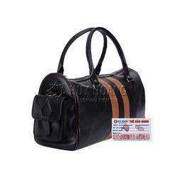 Túi xách Huy Hoàng 2 hộp túi màu đen HR6115 giá sỉ
