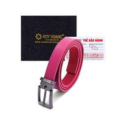 Thắt lưng nữ Huy Hoàng cỡ lớn màu hồng HR5133 giá sỉ
