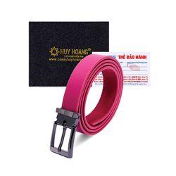 Thắt lưng nữ Huy Hoàng cỡ lớn màu hồng HR5138 giá sỉ