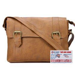 Túi xách Huy Hoàng 2 viền dọc màu bò nhạt HR6109 giá sỉ
