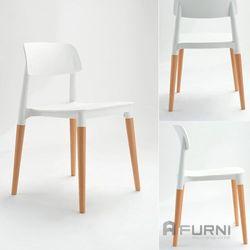 Ghế bàn ăn chân gỗ hiện đại Filly