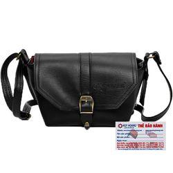 Túi xách bầu nhỏ Huy Hoàng màu bò đen HR6143 giá sỉ