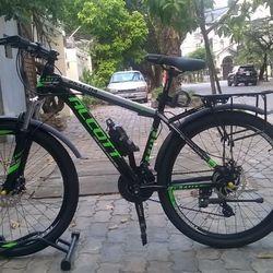 xe đạp địa hình Alcott 26AL - 04 màu xanh giá sỉ