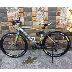 xe đạp FST GT002 màu xanh cốm