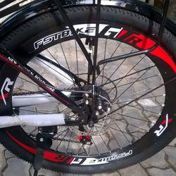 xe đạp địa hình FST N306 màu đỏ giá sỉ, giá bán buôn