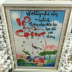 Tranh Vợ Chồng Đồng Hồ giá sỉ