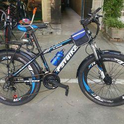 xe đạp địa hình FST N206 màu xanh dương giá sỉ
