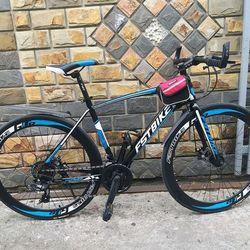Xe đạp địa hình FST GT002 MÀU XANH DƯƠNG
