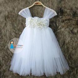 Váy đầm công chúa phụ dâu nhí CC214 giá sỉ, giá bán buôn