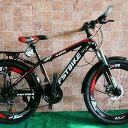 xe đạp địa hình FST N206 màu đỏ giá sỉ