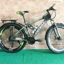 Xe đạp địa hình FST N306 màu xanh chuối từ Thái Lan giá sỉ